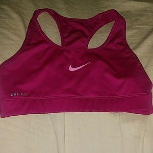 Nike Pro Dri-Fit Pink Girls SportsBra